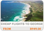 cheap flights to George
