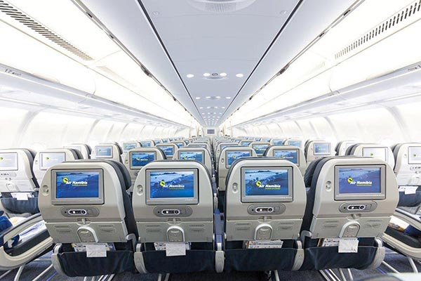 Air Namibia Seating