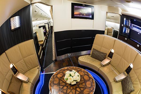 Etihad Airways First Class Lobby