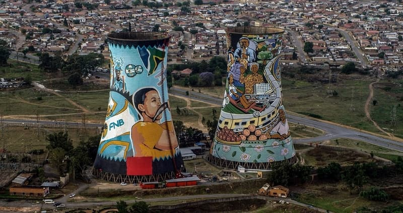 Soweto Towers in Johannesburg